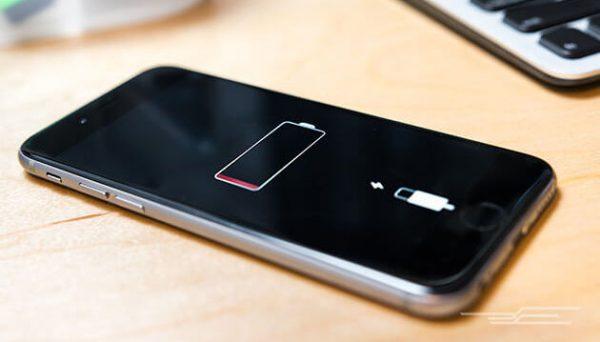 Разряженный iPhone