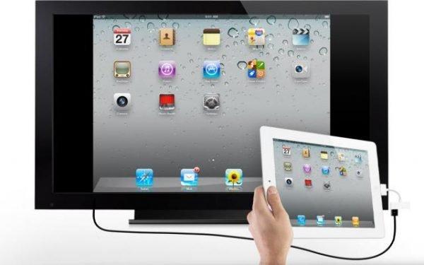 Подключение iPad через HDMI-адаптер