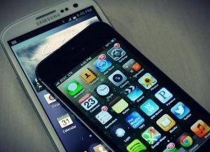 айфон и самсунг на андроиде