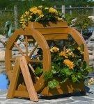 Декоративный вазон «Колесо обозрения»