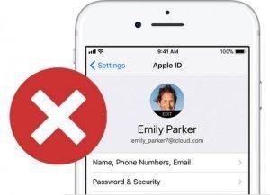 Деактивация Apple ID