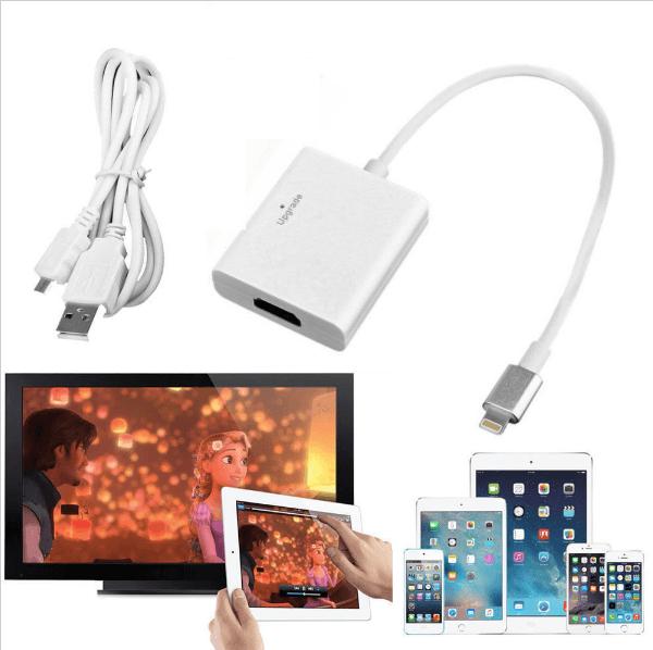 Передача изображения через HDMI-адаптер