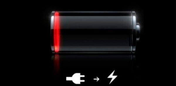 Индикация глубокого разряда батареи