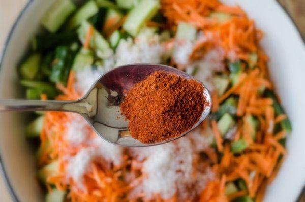 Перец к салату