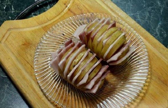 Подготовленные картофельные клубни