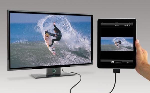 Подключение iPad телевизору через USB