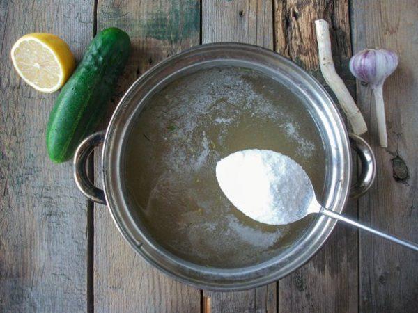 Крупная поваренная соль для маринада