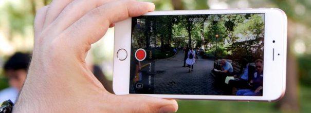 видео на iphone