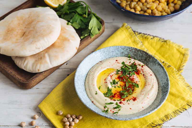 Хумус из фасоли — веганский рецепт царской закуски