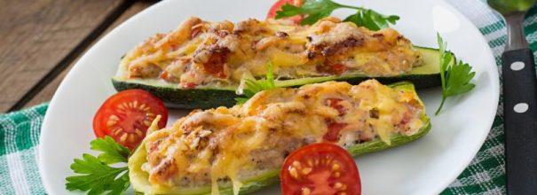 кабачки с начинкой в духовке - невероятно аппетитное, вкусное и полезное кушанье