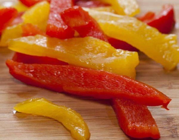 Ломтики перца
