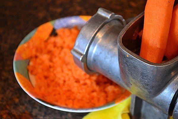 Морковь и мясорубка