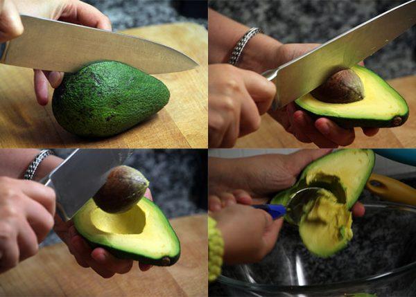 разделка авокадо