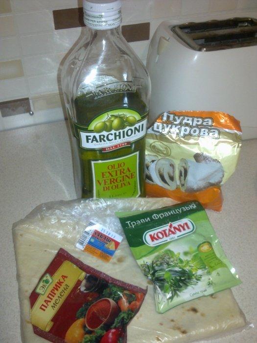 продукты для чипсов из лаваша