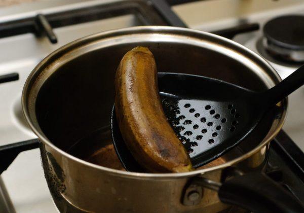 отваренный банан