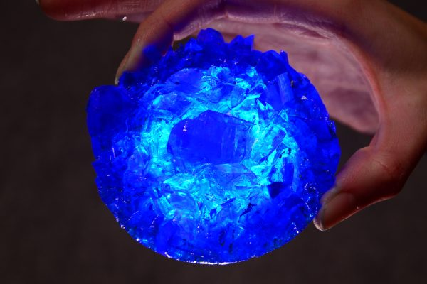 кристалл медного купороса