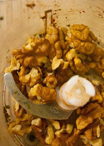измельчение грецких орехов