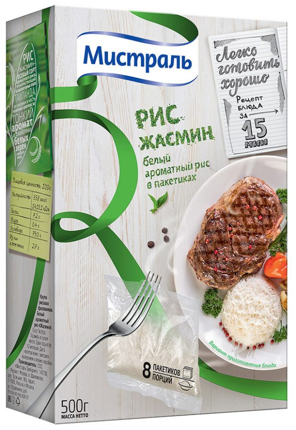 рис в пакетиках
