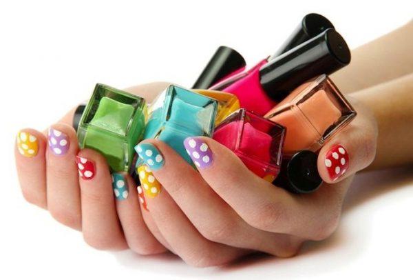 Лаки для ногтей разных цветов