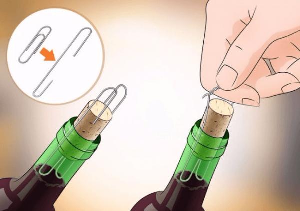 Открываем вино без штопора