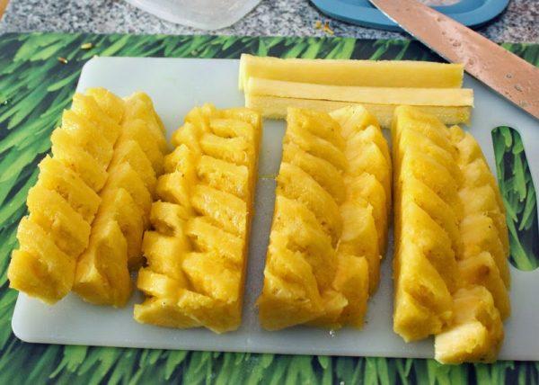 ломтики ананаса