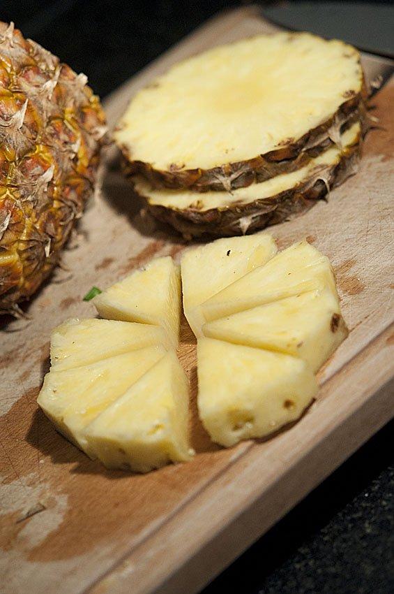 кружки ананаса