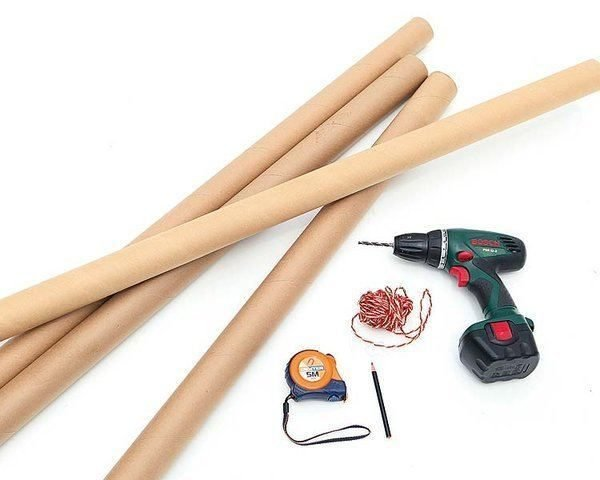 Необходимые материалы для изготовления ширмы