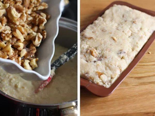 Грецкие орехи и заготовка туррона