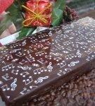 Шоколадный туррон с воздушным рисом