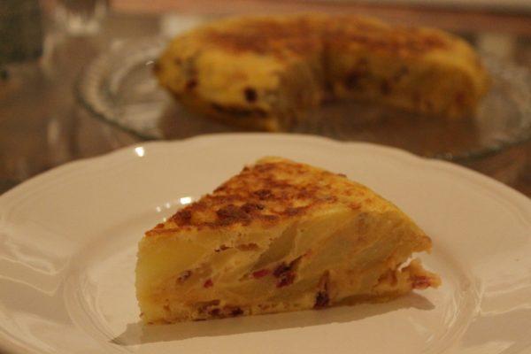 Порция картофельного омлета