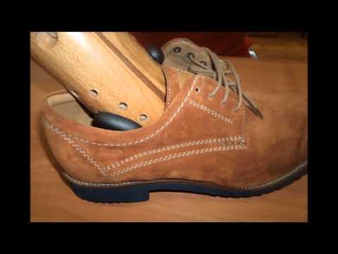 Растягиваем обувь при помощи колодки