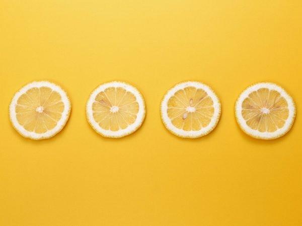 Нарезка лимона