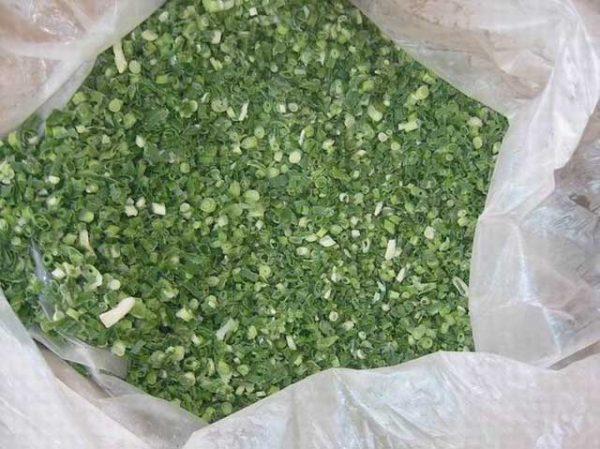Замороженный зелёный лук