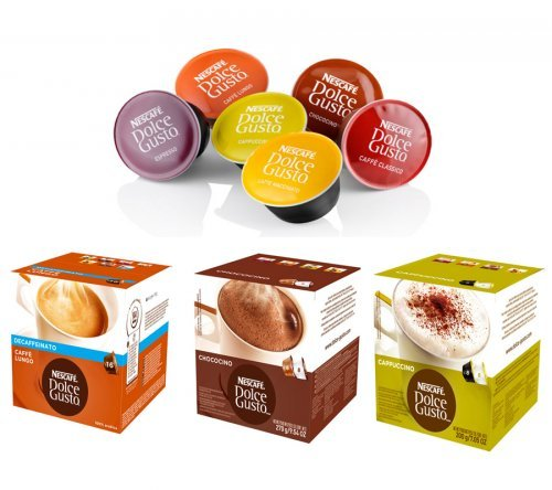 Капсулы для кофеварки Dolce Gusto
