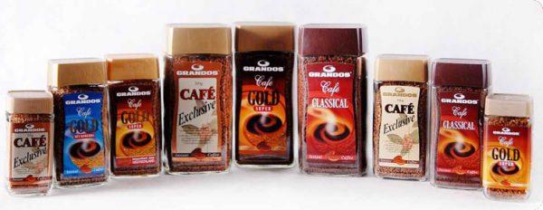 Немецкий кофе Grandos