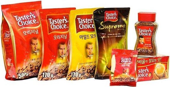 Taster's choice растворимый кофе