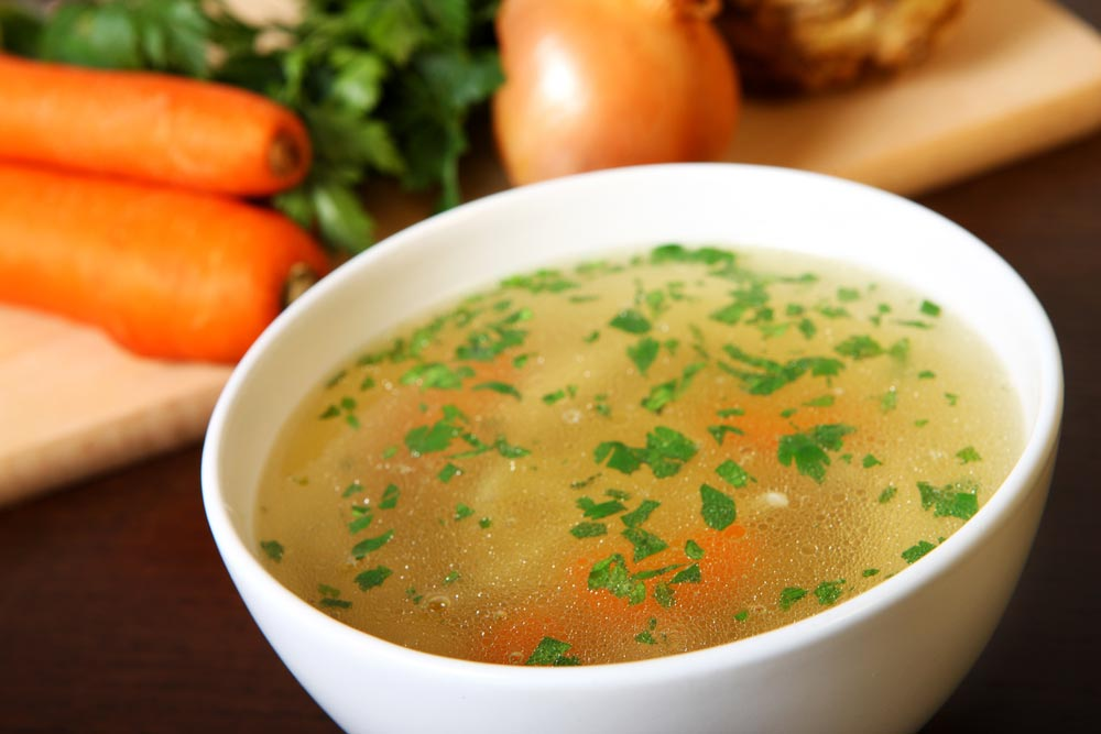 Как сделать бульон прозрачным для супа 406