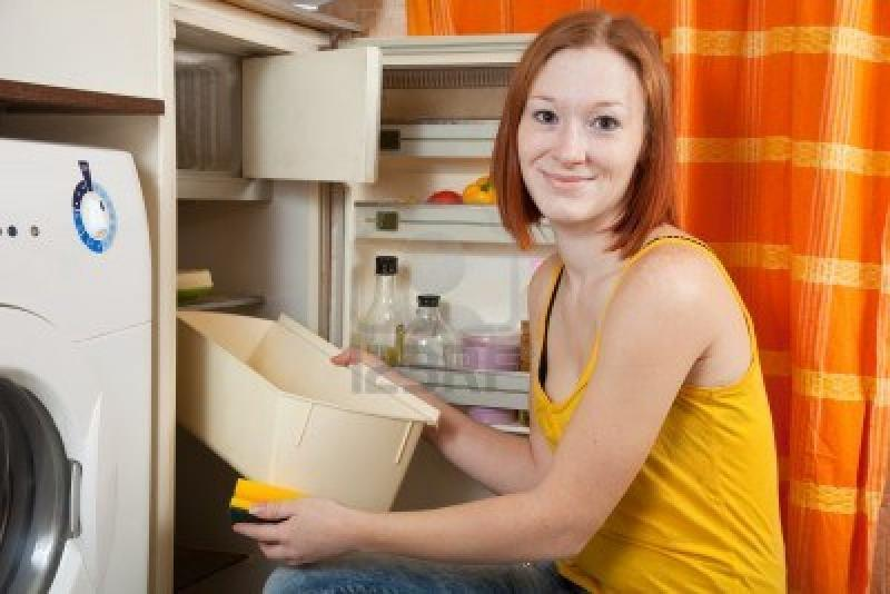 Как вывести запах рыбы из холодильника