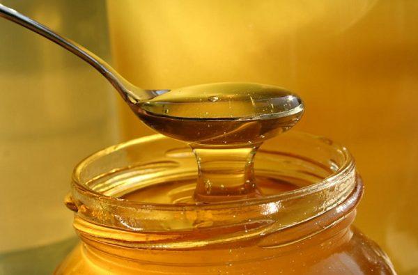 Ложка с мёдом