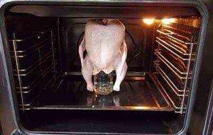 Разморозка в духовке
