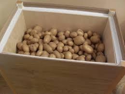 Утеплённый ящик для хранения овощей
