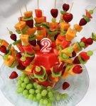 фруктовые канапе на день рождения
