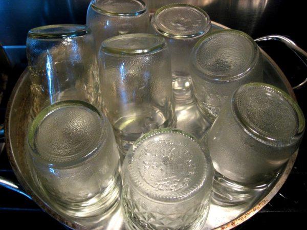 Стерилизация стеклянных баночек