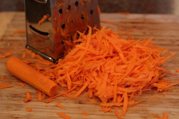 Тёртая морковь