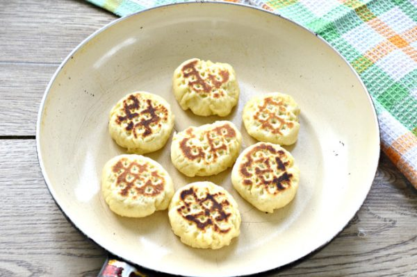 Печенье на быструю руку в сковороде