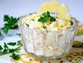 Восхитительный салат из курицы с ананасами - классика с ноткой экзотики