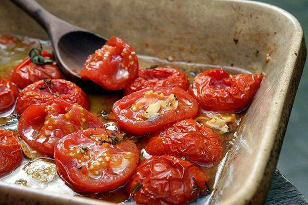 Запечённые томаты черри