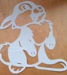 Шаблон «Заяц»