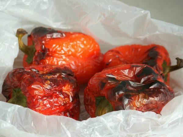 Болгарский перец в пакете