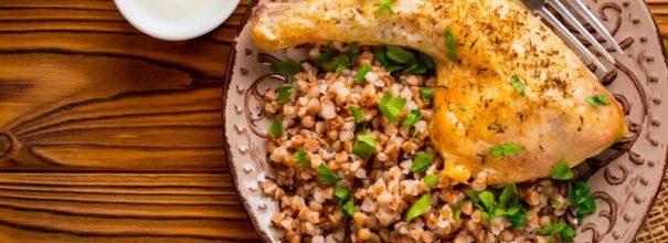 Гречка с курицей в духовке - вкуснейшее блюдо для детей и взрослых